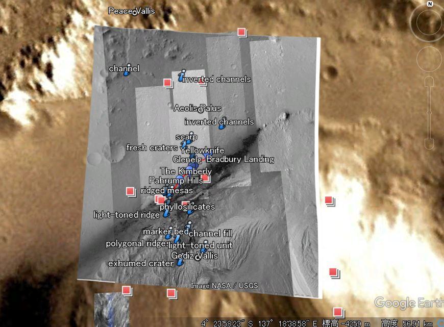 火星のグーグル・データセンター